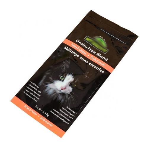 High quality fin lap seal pouch Cat litter packaging bag
