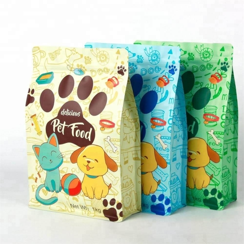 2019 Wholesale packaging bags, 1KG wholesale pet food bag, manufacturers OEM Cheap Food Packaging bag