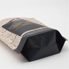 China Stand Up Zipper Beef Jerky Custom Printed Mylar Ziplock Kraft Paper Bag