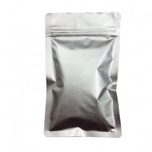 Hot selling unprinted high quality aluminum foil silver color ziplock mylar bag for food packaging