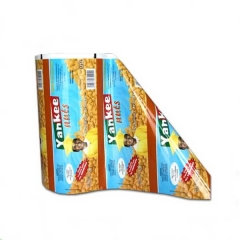 Gravure printing flexible packaging food grade roll film