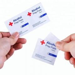 Disposable medical none-woven alcohol wipes/ alcohol prep pad