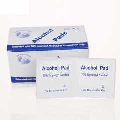 Professional Custom Surgical Cleaning Sterile Alcohol Cleaning Pad