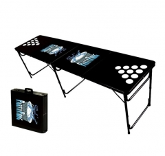 8ft Outdoor Folding Beer Pong Table